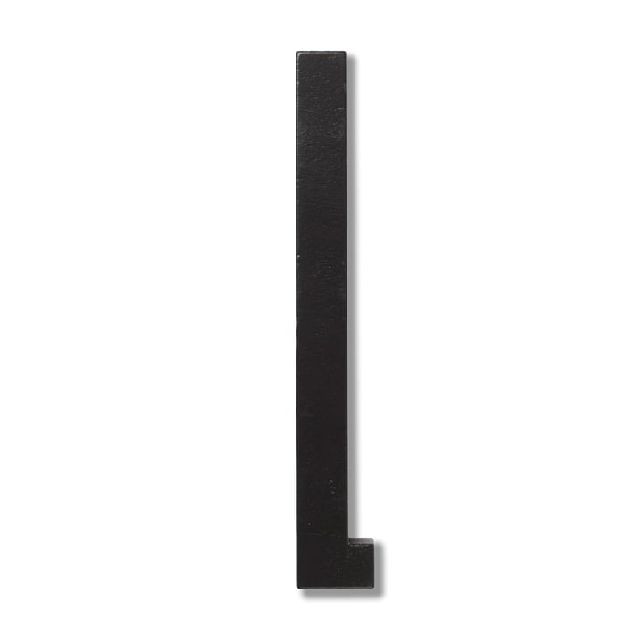 Wooden Letters Indoor L by Design Letters in Black