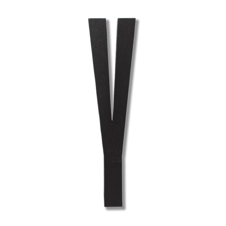 Wooden Letters Indoor Y by Design Letters in Black