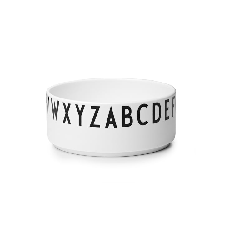 Design Letters - AJ Porcelain Decoration Bowl, medium