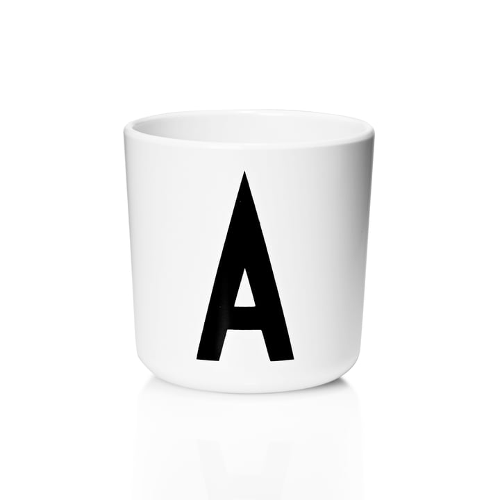 Design Letters - AJ Melamine Mug A