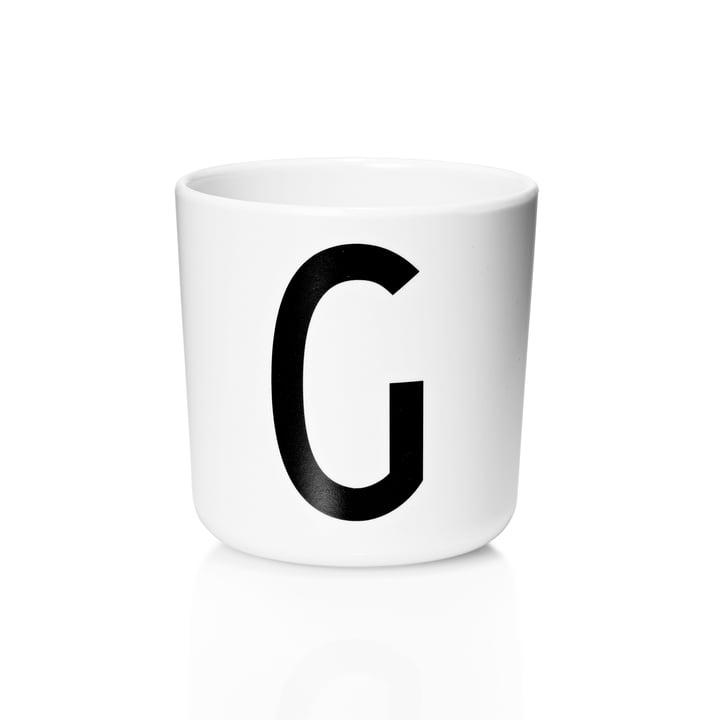 Design Letters - AJ Melamine Mug G