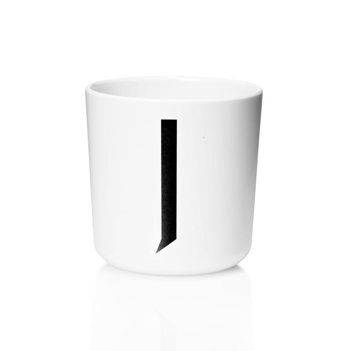 Design Letters - AJ Melamine Mug J