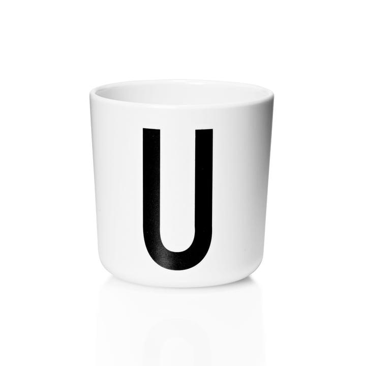 Design Letters - AJ Melamine Mug U