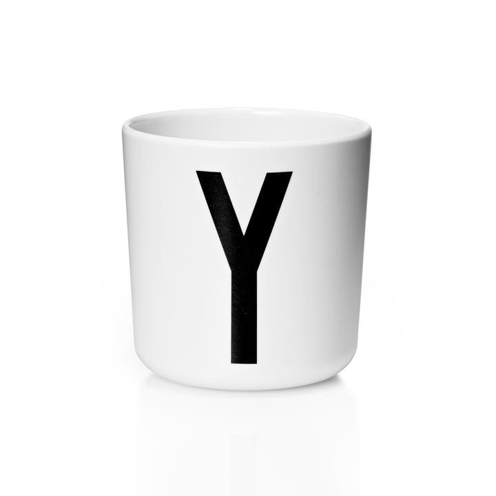 Design Letters - AJ Melamine Mug Y