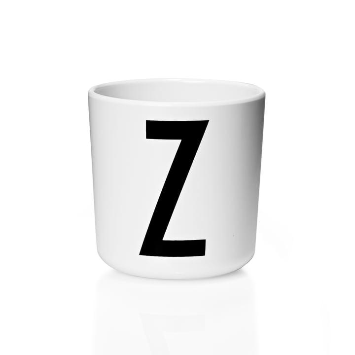 Design Letters - AJ Melamine Mug Z