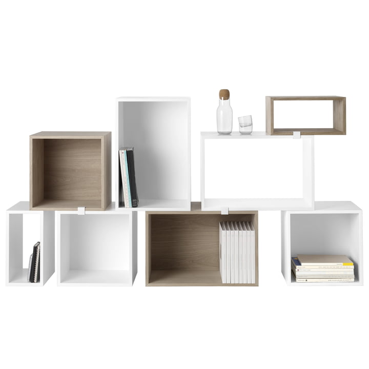 Catalog release: Muuto - Stacked Shelving system - white - Group
