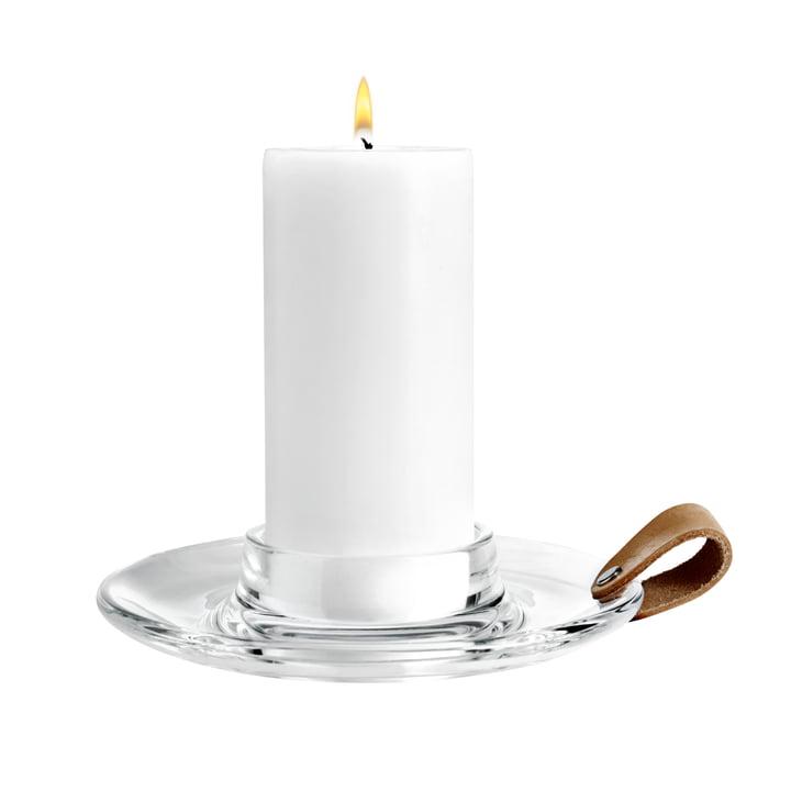 Holmegaard - Design with light block candleholder, 19 cm