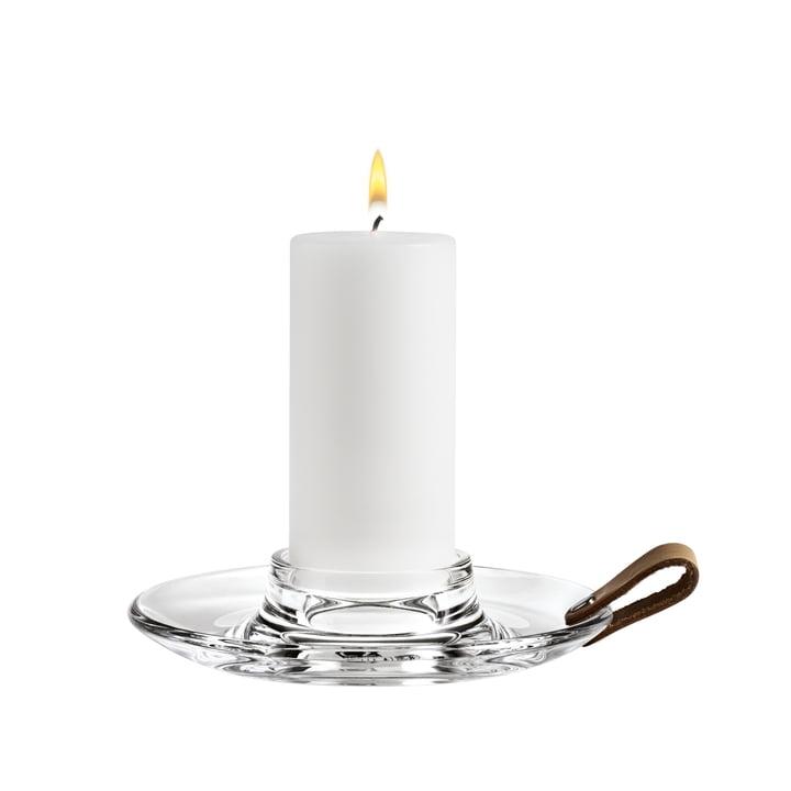 Holmegaard - Design with light block candleholder, 17 cm