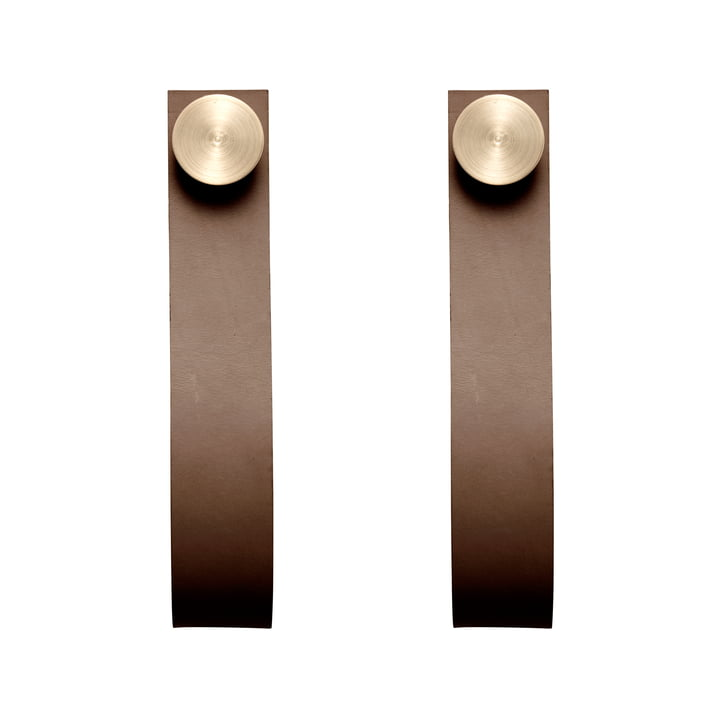 by Lassen - Stropp (set of 2), brass / brown