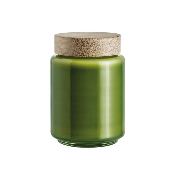 Holmegaard - Palet storage jar in green for 0.7 l