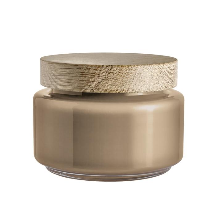 Holmegaard - Palet storage jar in brown for 1.2 l