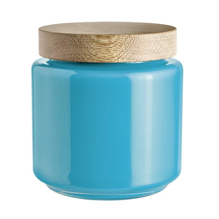 Holmegaard - Palet storage jar, blue, 2.0 l