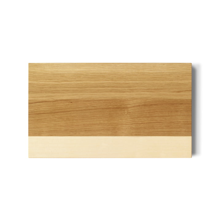 side by side - Breakfast Cutting Board, oak / maple
