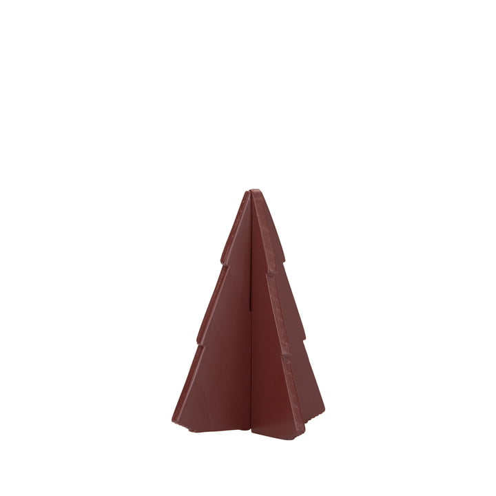 Skagerak - Spruce Tree 9 cm, oxide red
