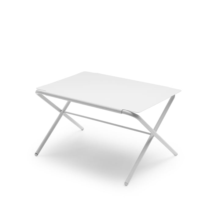 Skagerak - Bow table small, silver white