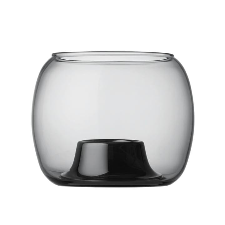 Iittala - Kaasa tea light holder 141 x 115 mm, grey