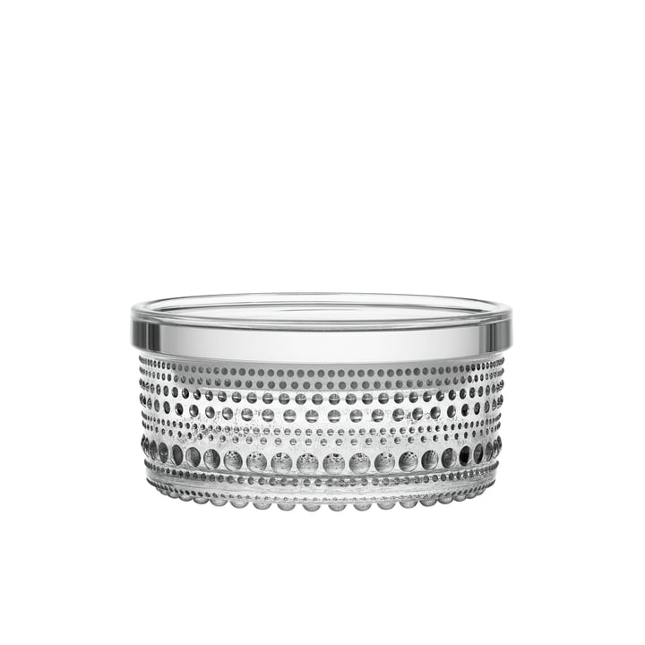 Kastehelmi Storage tin 116 x 57 mm from Iittala clear glass