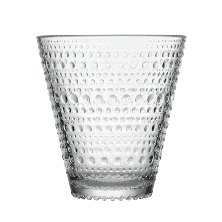 Kastehelmi Drinking glass 30 cl of Iittala clear glass