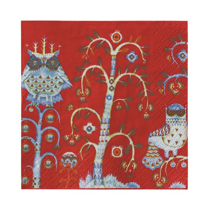 Iittala - Taika Paper Napkin 33 x 33 cm, red