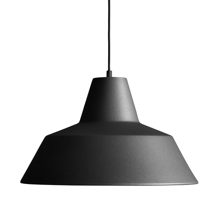 Made by Hand - Workshop Lamp W4 in anthracite black