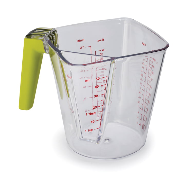 Joseph Joseph - 2-in-1 measuring cup in transparent and green