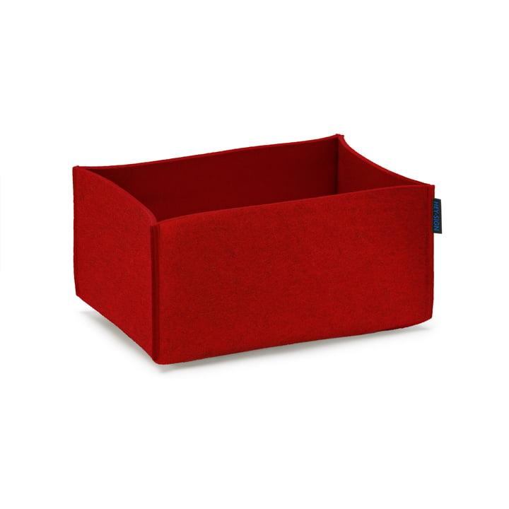 Hey Sign - Box rectangular, red
