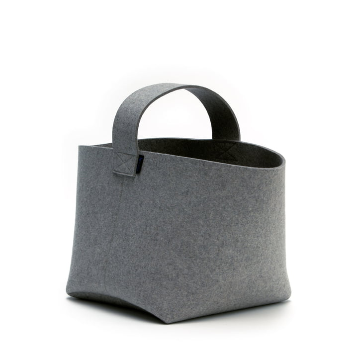 Hey Sign - Firewood Basket small, anthracite