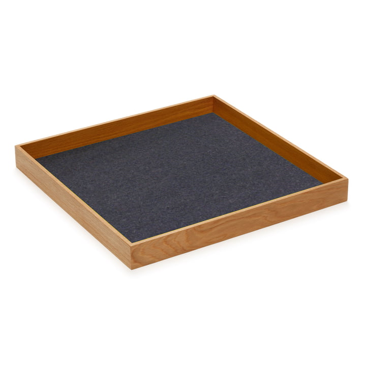 Hey Sign - Tray Sqaure, anthracite