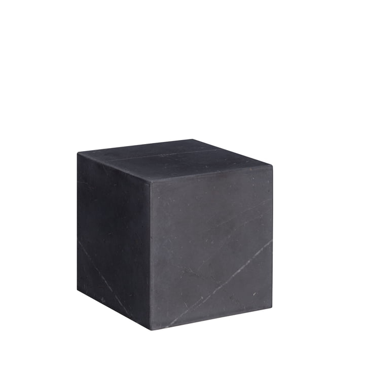 e15 - AC11 Stop Bookend H 10 cm, black