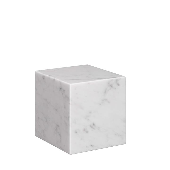 e15 - AC11 Stop Bookend H 10 cm, white