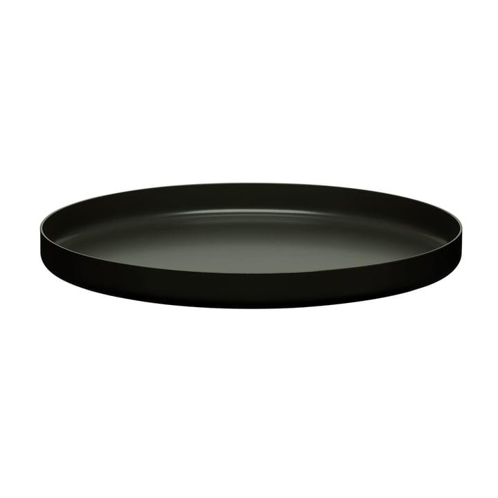 e15 - CM05 Habibi Tray Ø 55 cm, jet black