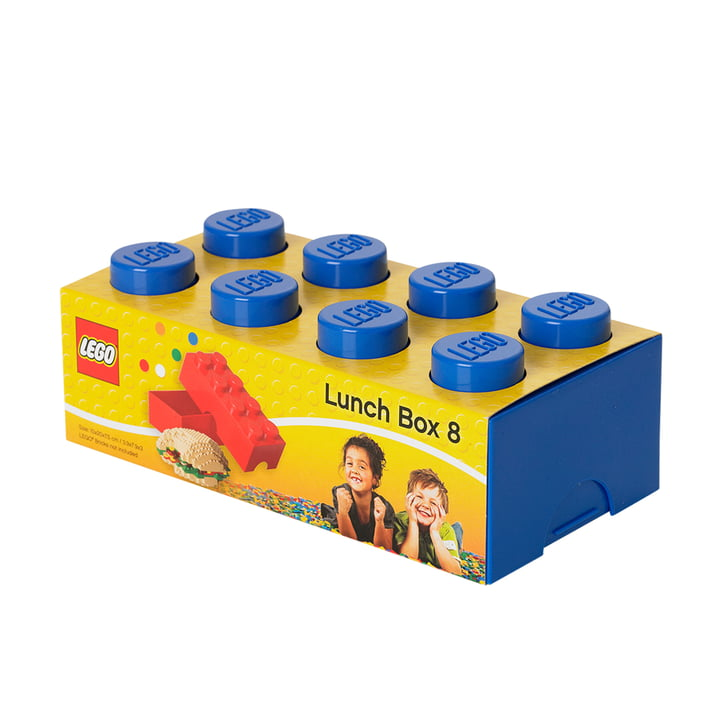 Lego - Lunch Box 8, blue with packaging