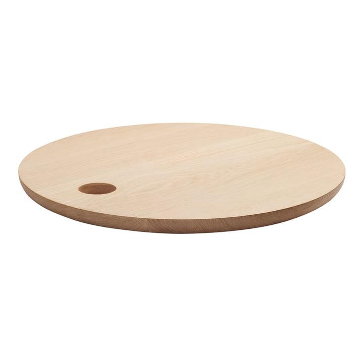 e15 - AC07 Cut Chopping Board Ø 45 cm in natural oak