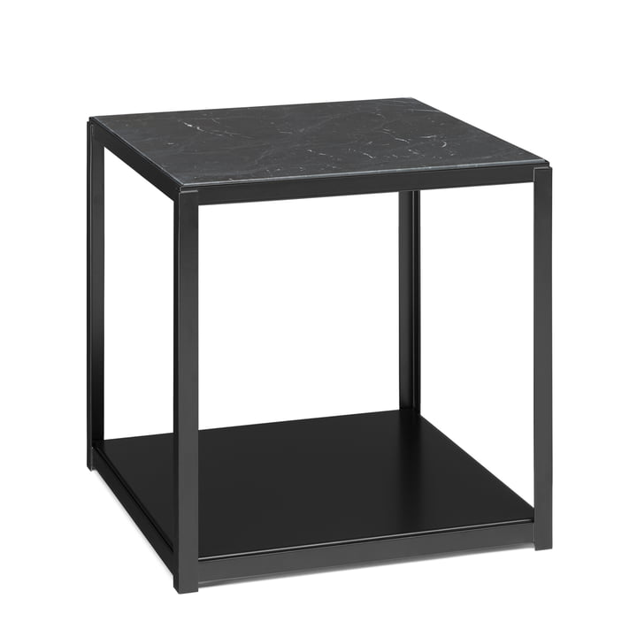 e15 - FK12 FortyForty stackable side table in black