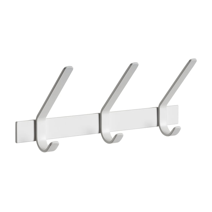 e15 - FK08 Uni coat rack L 40 cm in signal white