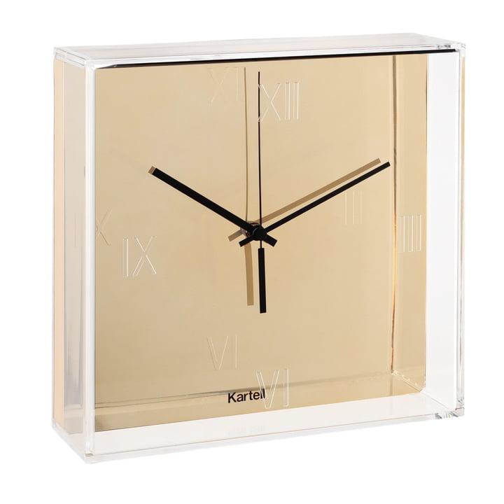 Kartell - Tic & Tac Wall Clock, Gold