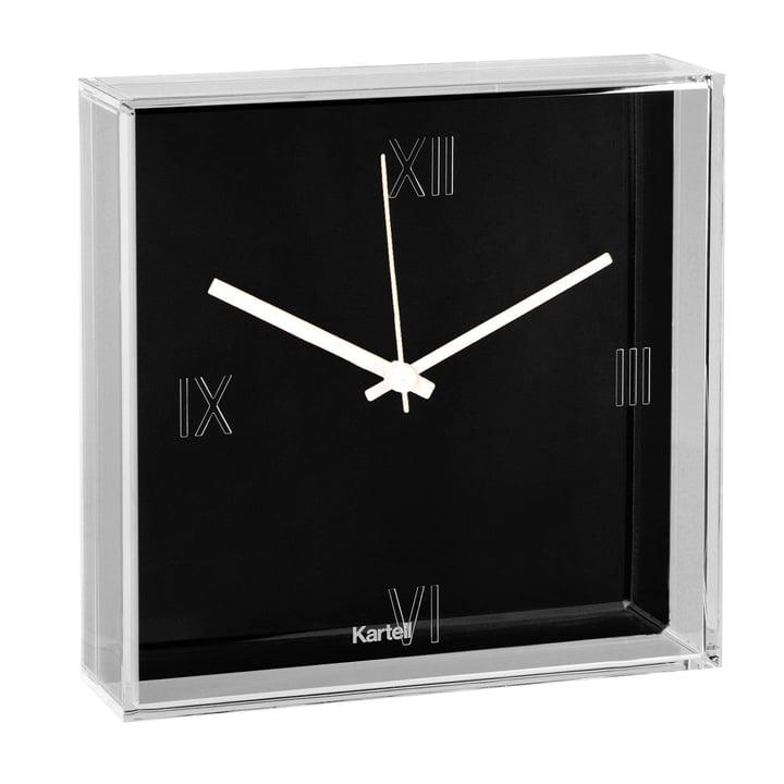 Kartell - Tic & Tac Wall Clock, black