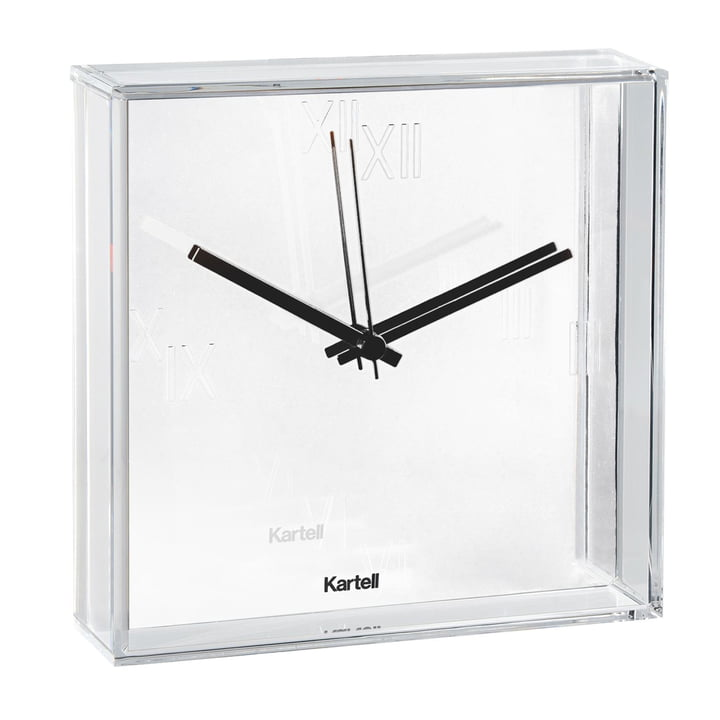 Kartell - Tic & Tac Wall Clock, white