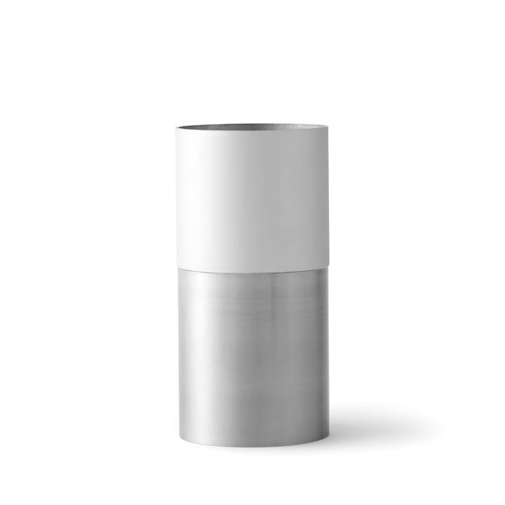 &Tradition - True Colour Vase LP1, white aluminium