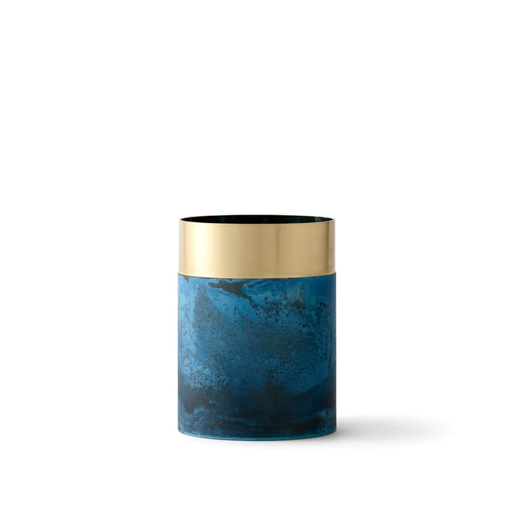 & Tradition - True Colour Vase LP5, blue brass