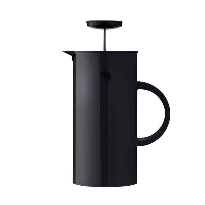 EM Pressfilter jug 1 l from Stelton in black