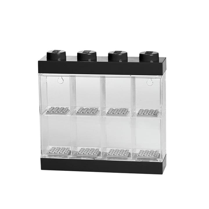 Lego - Storage Box & Minifigure Display Case 8, black