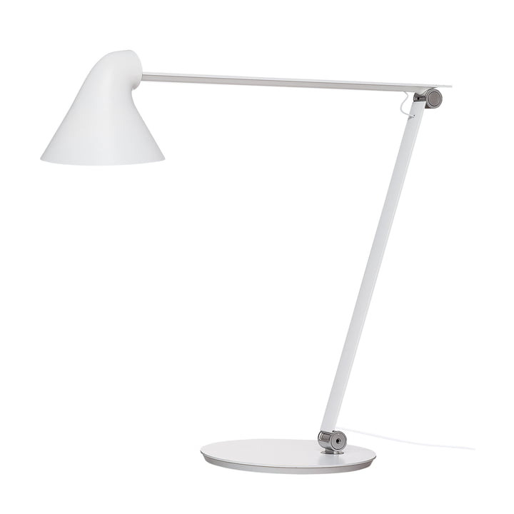 NJP LED table lamp with stand by Louis Poulsen in white