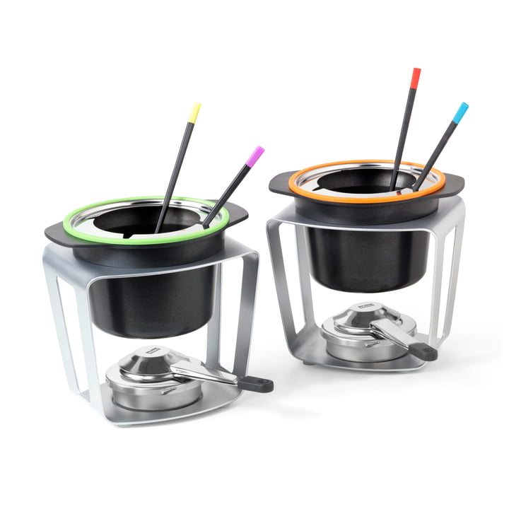 Fondue Fun-set of 2 by Stöckli
