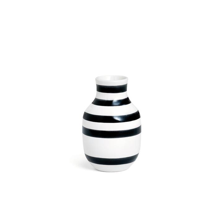 Omaggio Vase H 125 from Kähler Design in black / white