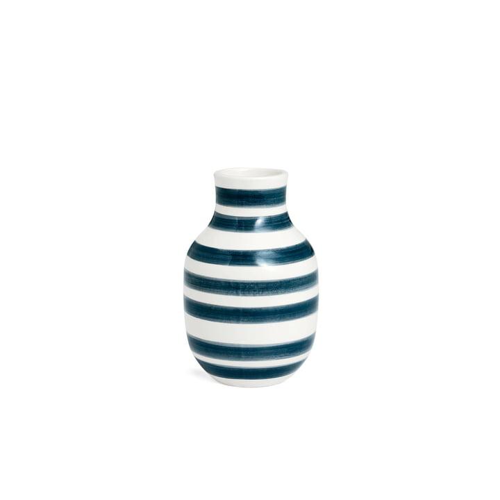 Omaggio Vase H 125 by Kähler Design in Granite Grey
