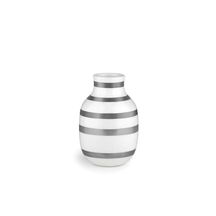Omaggio Vase H 125 by Kähler Design in Silver