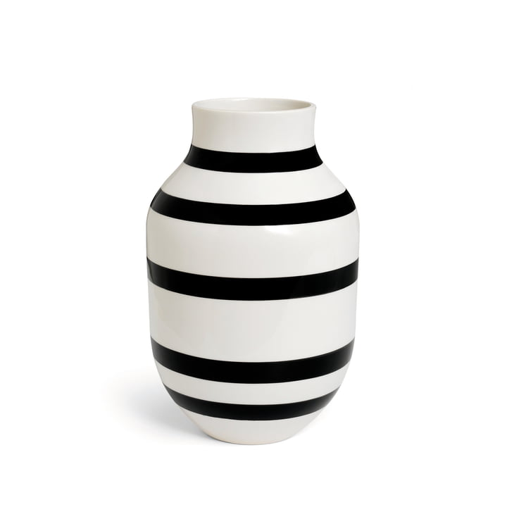 Kähler Design - Omaggio Vase H 305 in black