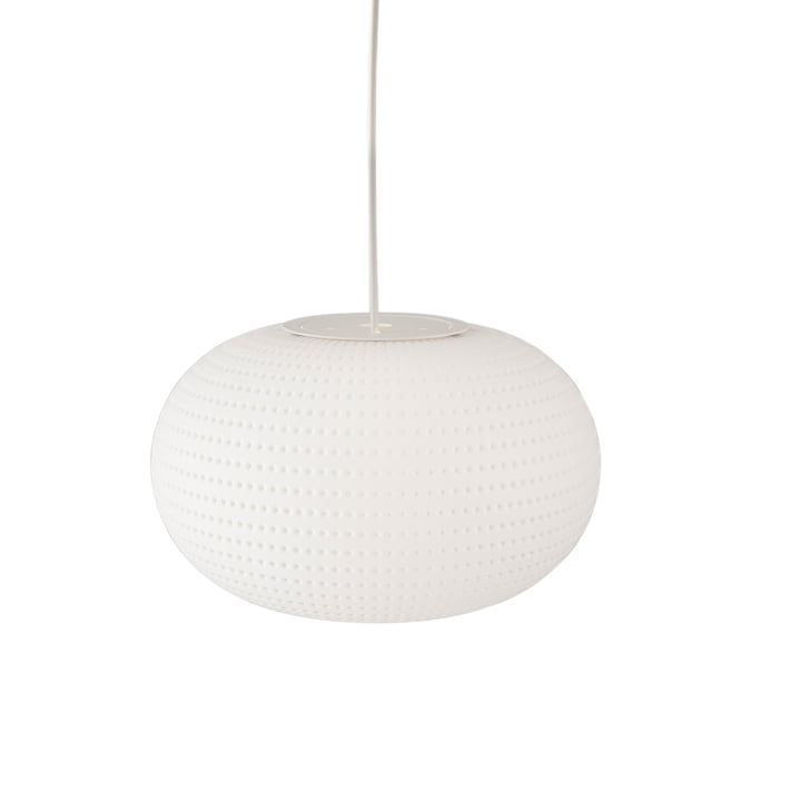 Bianca pendant lamp by FontanaArte in white