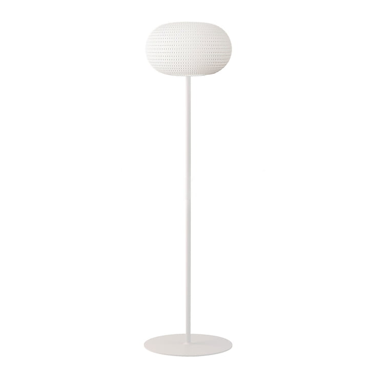 Bianca floor lamp by FontanaArte in white